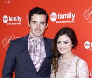 Lucy Hale et Ian Harding à une soirée organisée par ABC Family