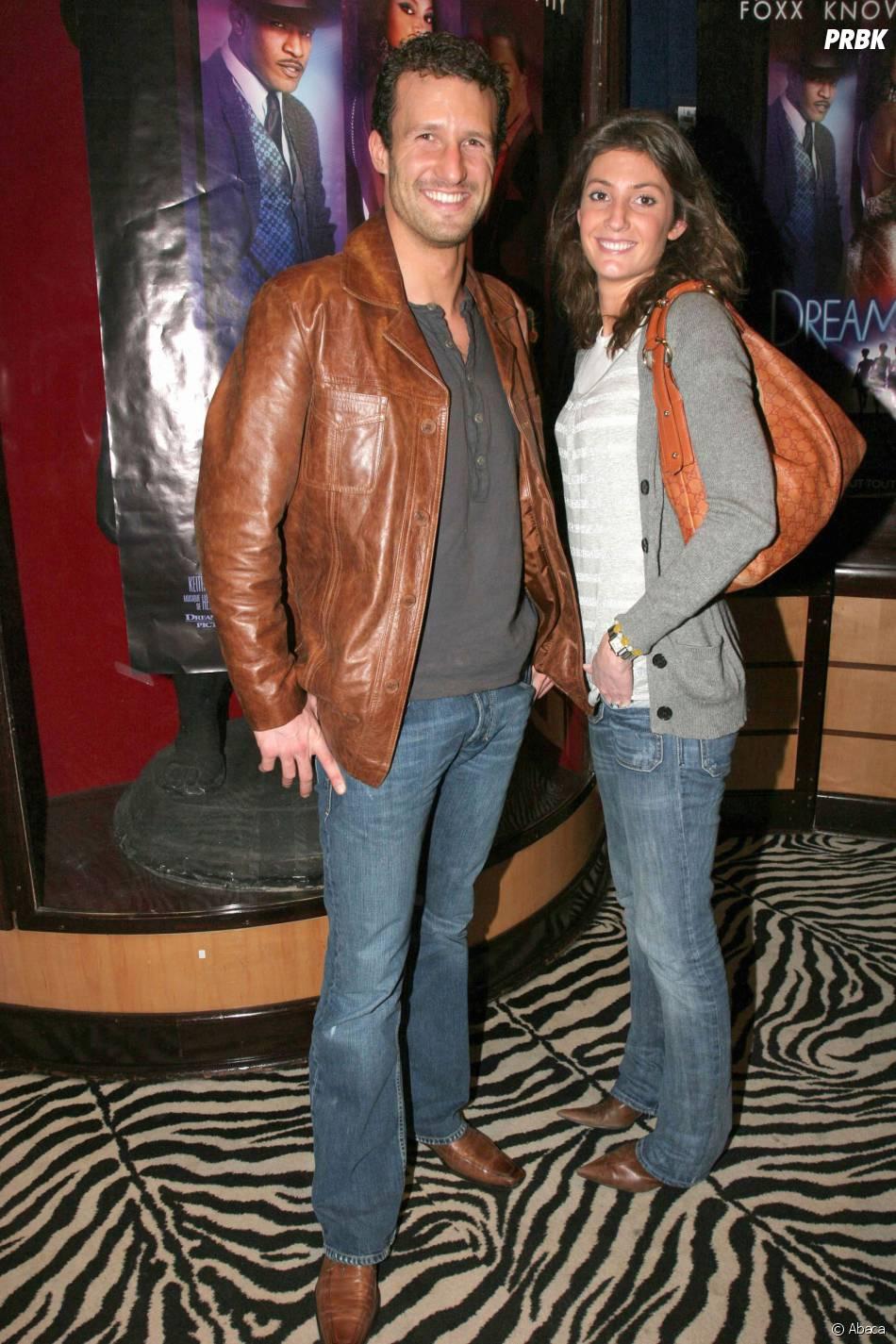 Boris Ehrgott et sa femme Caroline Ithurbide à Paris en 2007