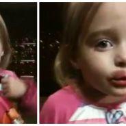 Trop mignonne : une petite fille jure ne pas avoir joué avec la maquillage de sa maman sauf que...