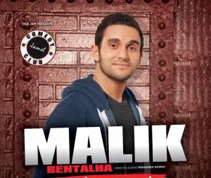 Malik Bentalha : l'affiche de son one-man-show