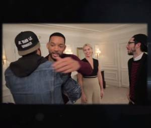 Studio Bagel : quand Will Smith et Margot Robbie (Diversion) s'invitent dans la vidéo de Ludovik et Kemar sur Youtube