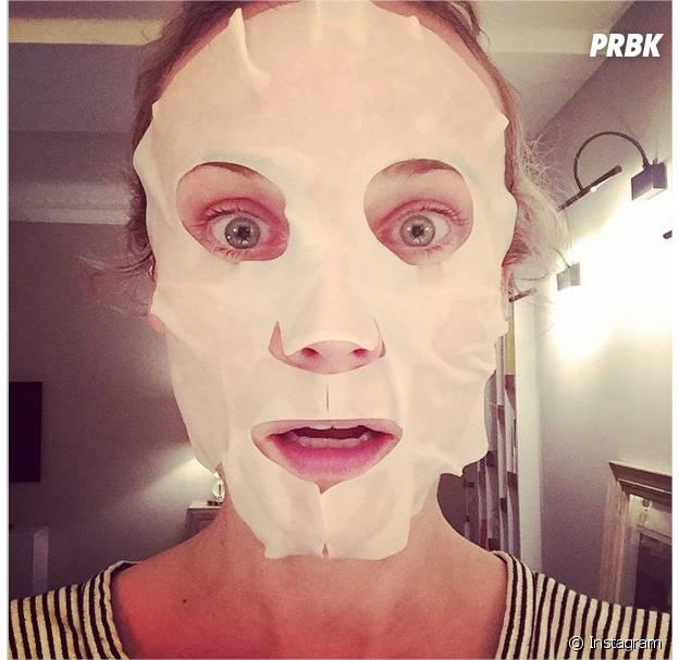 Diane Kruger : son selfie masque de beauté sur Instagram