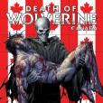 Wolverine mort sur la couverture d'un comics