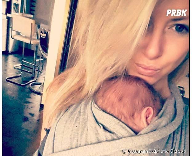 Stéphanie Clerbois et son fils Lyam complices sur Instagram