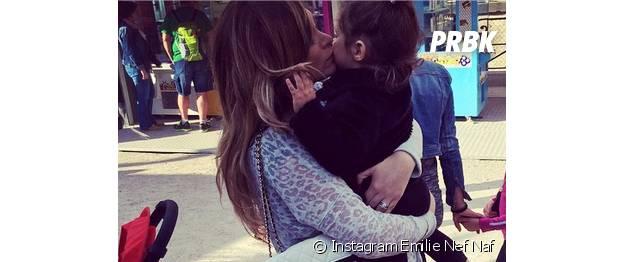 Emile Nef Naf très protectrice envers sa fille Maëlla