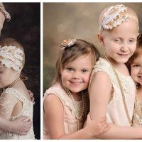Touchant : les retrouvailles émouvantes de 3 petites filles en rémission un an après leur cancer