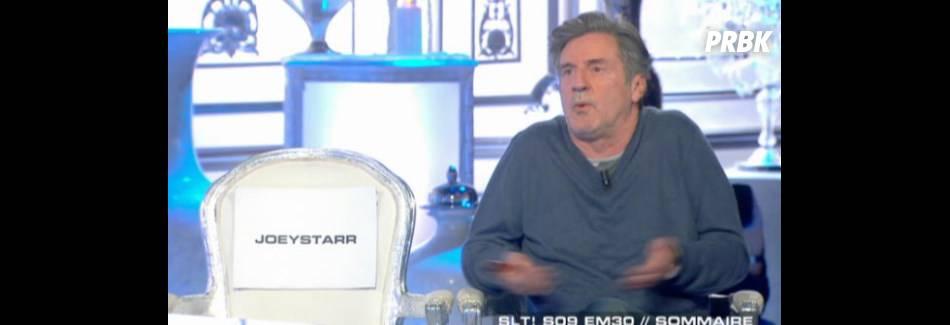 Joey Starr clashé par Thierry Ardisson dans Salut les terriens
