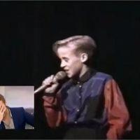 """Ryan Gosling gêné devant des images de lui tout jeune : """"J'avais l'air tellement sûr de moi !"""""""