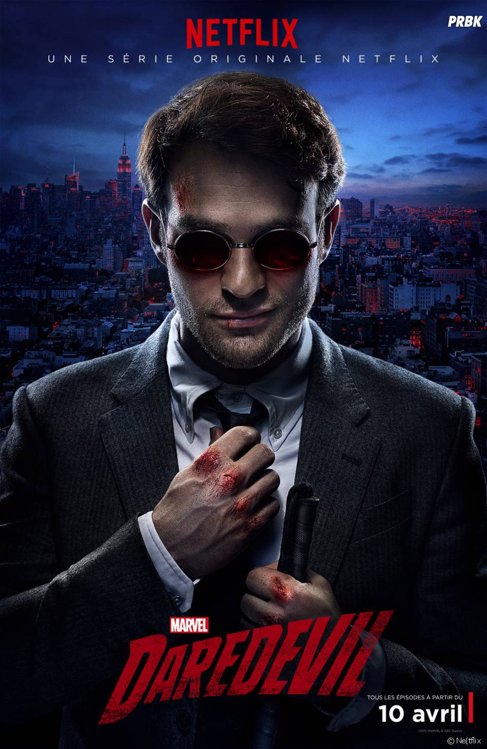 Daredevil : l'affiche de la série