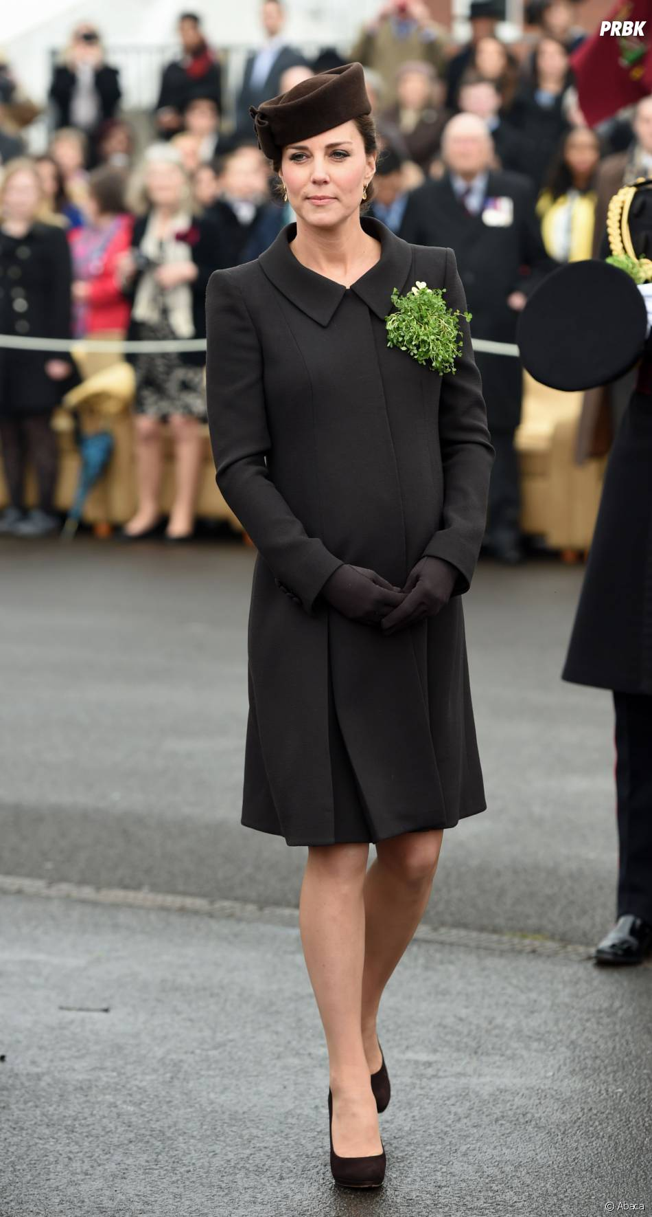 Kate Middleton enceinte et stylée