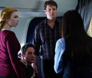 Castle saison 7, épisode 21 : Rick apprenti-détective dans un avion