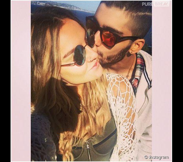 Zayn Malik et Perrie Edwards : photo de couple pendant leurs vacances en France en avril 2015