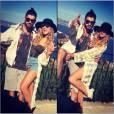 Zayn Malik et Perrie Edwards complices pendant leurs vacances en France en avril 2015