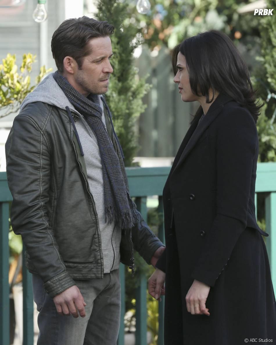 Once Upon a Time saison 4, épisode 20 : Robin des Bois (Sean Maguire) et Regina (Lana Parrilla)