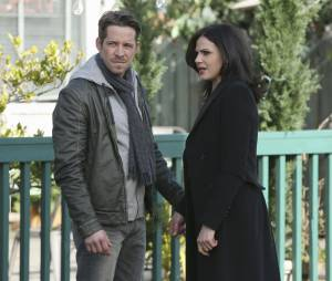 Once Upon a Time saison 4, épisode 20 : Lana Parrilla et Sean Maguire sur une photo