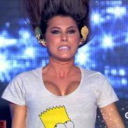 Karine Ferri s'envoie en l'air et se retourne la tête avec Florent Peyre avant un booty shake sexy