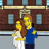 Royal Baby 2 : Charlotte Elizabeth Diana déjà transformée en Simpson !