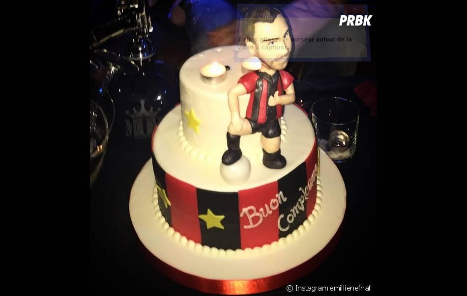 Jérémy Ménez : son gâteau d'anniversaire pour ses 28 ans dévoilé sur Instagram