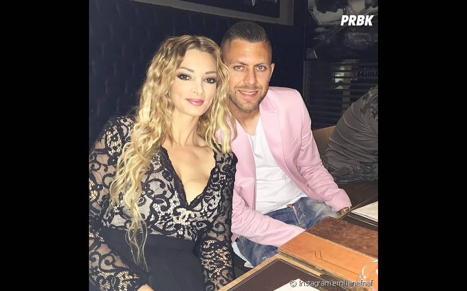 Emilie Nef Naf et Jérémy Ménez : photo de couple pour l'anniversaire du joueur du Milan AC