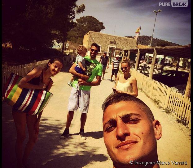 Marco Verratti et Salvatore Sirigu (PSG) : séjour à Ibiza en mai 2015