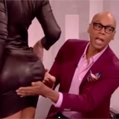 Amber Rose : des fesses naturelles ? Elle se laisse tripoter à la télé pour le prouver