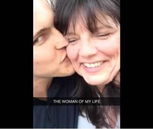 Jérôme Jarre et sa mère complices sur Snapchat