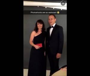 Jérôme Jarre et sa mère en mode photoshoot avant l'ouverture de Cannes 2015
