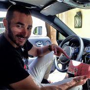Karim Benzema arrêté sans permis ? Il dément en photo sur Instagram