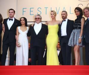 Mad Max Fury Road : l'équipe du film au Festival de Cannes le 14 mai 2015