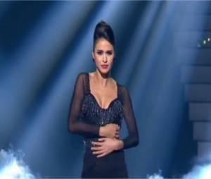 Leila Ben Khalifa lors de la soirée de gala de Danse avec les Stars Liban le 24 mai 2014