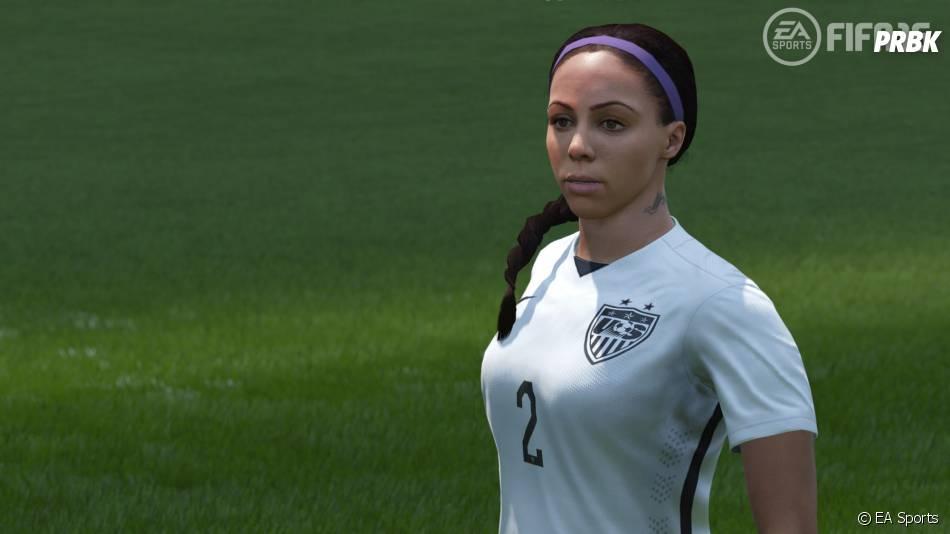 FIFA 16 : Sydney Leroux modélisée dans le jeu