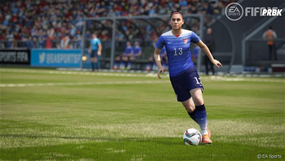 FIFA 16 : Alex Morgan est dans le jeu