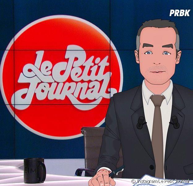 Le Petit Journal : Yann Barthès en personnage de cartoon