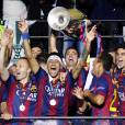Neymar et le FC Barcelone ont remporté la Ligue des Champions face à la Juventus le 6 juin 2015