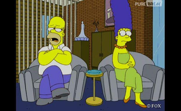 Les Simpson : Homer et Marge vont se séparer