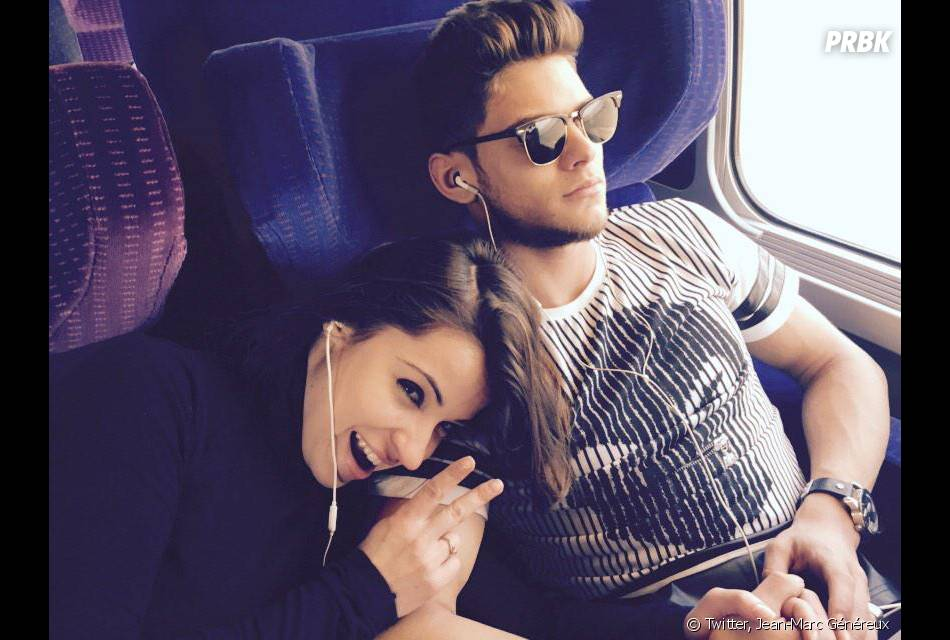 Rayane Bensetti et Denitsa Ikonomova proches sur Twitter, le 12 février 2015