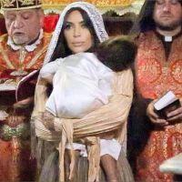 Kim Kardashian : des photos inédites du baptême de North West à Jérusalem dévoilées