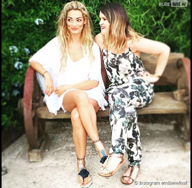 Emilie Nef Naf et Coralie : retrouvailles à Saint-Tropez pour les ex candidates de Secret Story