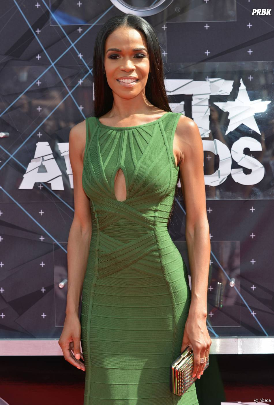Michelle Williams sur le tapis rouge des BET Awards, le 28 juin 2015