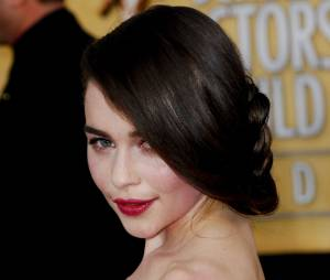 Emilia Clarke aux Screen Actors Guild Awards 2013