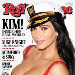 Kim Kardashian enceinte et ultra sexy : ses seins font le buzz en Une de Rolling Stone