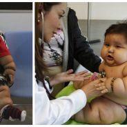 WTF : à 8 mois, ce bébé pèse déjà... 21 kilos !