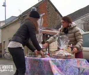 L'amour est dans le pré 2015 : clash au marché pour Kim et Mélodye