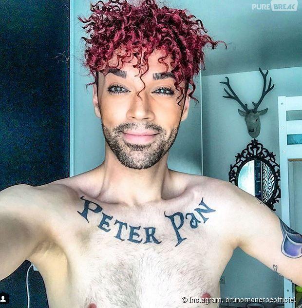 Couleur de cheveux rouge homme
