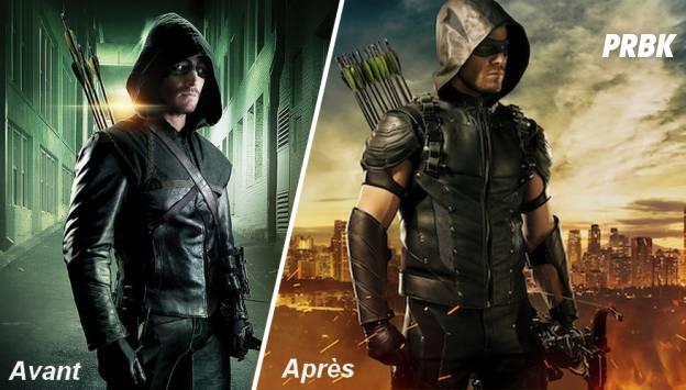 Arrow saison 4 : changement de costume avant/après