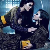 Kendall Jenner et sa soeur Kylie, égéries complices de la nouvelle collection Balmain