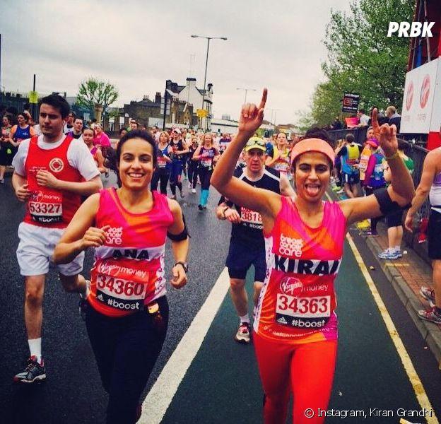 Kiran Gandhi a couru le marathon de Londres sans tampon hygiénique alors qu'elle avait ses règles