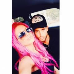 Adixia (Les Ch'tis VS Les Marseillais) ose les cheveux en rose fluo