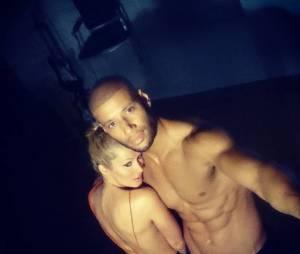 Tatiana Laurens et Xavier Delarue complices lors d'un shooting