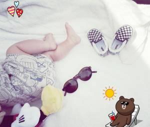 Leslie : la chanteuse dévoile une photo de son bébé